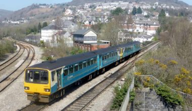 Railway transportation in Wales