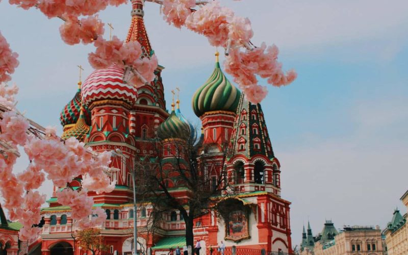 Beautiful places of Russia