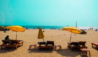 Serene beaches of India